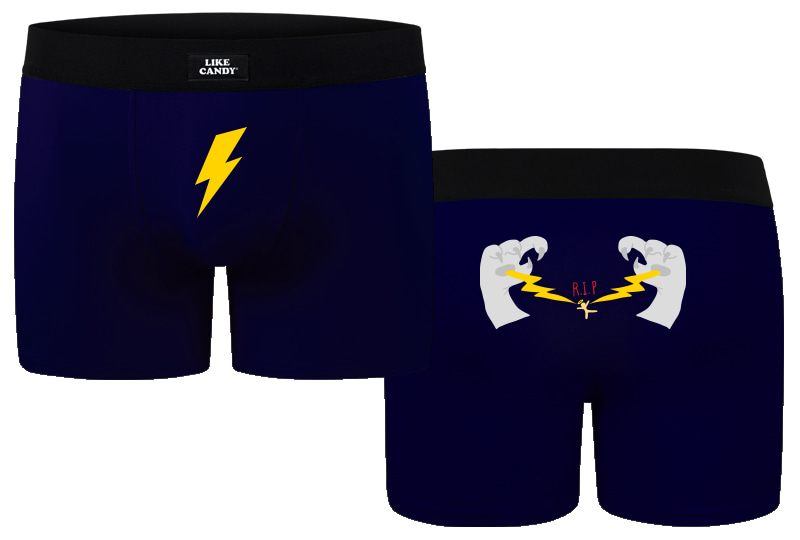 Man Underwear Lightning